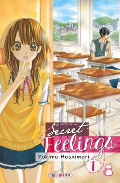 Couverture Secret feelings, tome 1