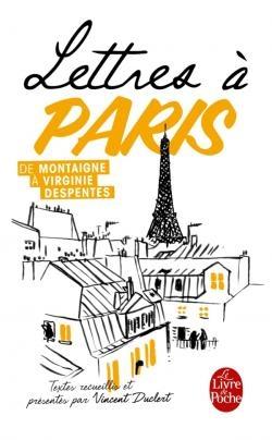 Couverture Lettres à Paris