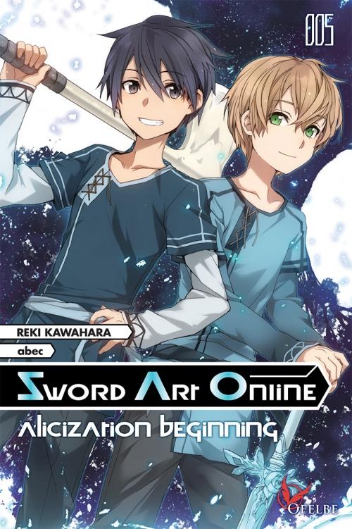 Couverture Sword art online (roman), tome 5 : Alicization beginning