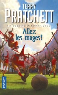 Couverture Les Annales du Disque-Monde, tome 33 : Allez les mages !