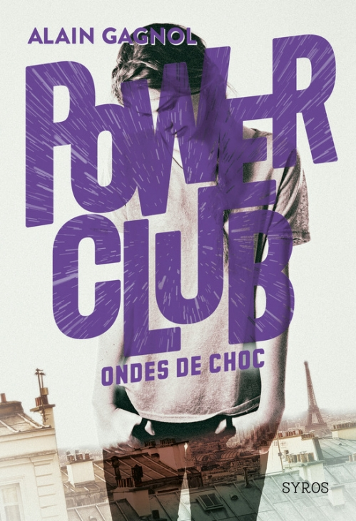 Couverture Power club, tome 2 : Ondes de choc
