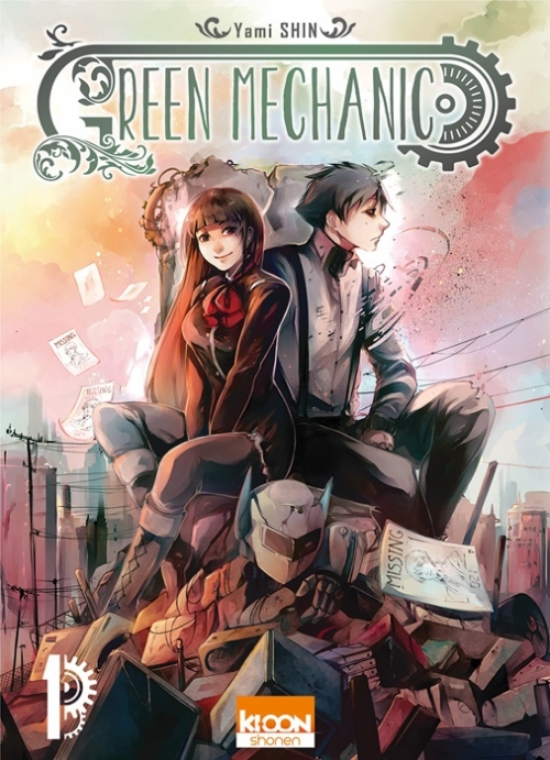 Couverture Green mechanic, tome 1