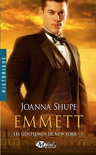 Couverture Les gentlemen de New York, tome 1 : Emmett