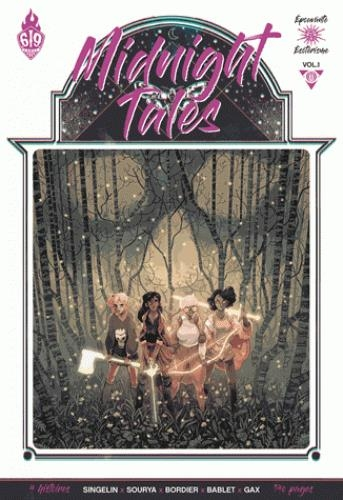 Couverture Midnight tales, tome 1