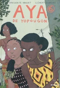 Couverture Aya de Yopougon, tome 6