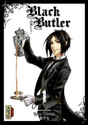 Couverture Black Butler, tome 01
