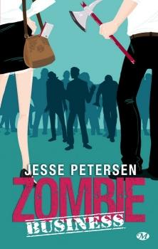 Couverture Zombie thérapie, tome 2 : Zombie Business