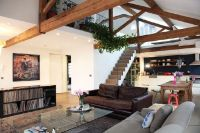 Open plan loft converted from an organ factory. Situated ...