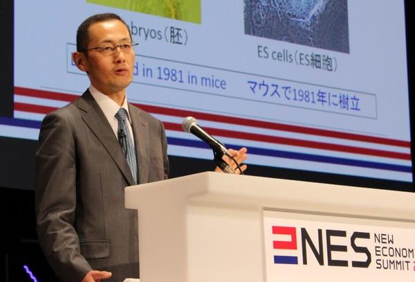 iPS細胞の「i」が小文字の理由は「あの製品のパクリ」 ノーベル賞・山中伸弥教授がぶっちゃける