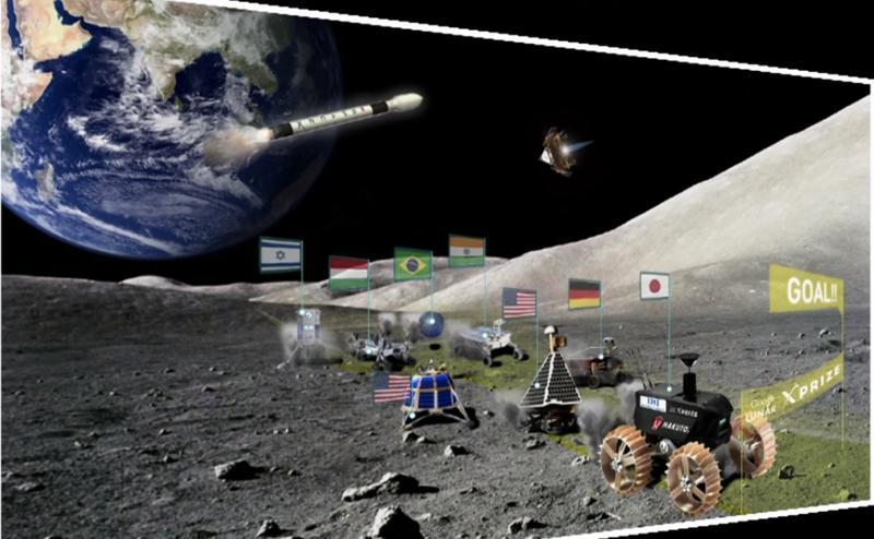 優勝賞金20億円! Google主催の月面探査コンテスト「Lunar X PRIZE」