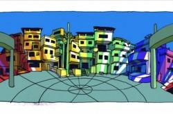 リオで最も危険なスラム「ヴィラ・クルゼイロ」 暴力に支配された町を変えたペイントアートの奇跡
