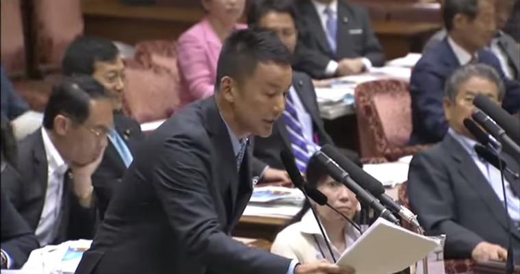山本太郎氏「アメリカに、民間人の殺戮をやめろと言えますか?」自衛隊法の改正をめぐり安倍総理に質問