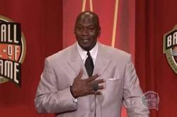 「限界とは単なる幻想に過ぎない」マイケル・ジョーダンがバスケの殿堂でスピーチ