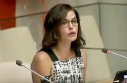 「120万人の少女が性行為を強要され、半数が殺害されている」米女優が暴力撤廃を訴え