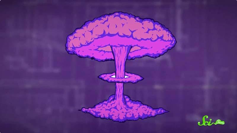 核だけじゃない 巨大な爆発がキノコ雲を生み出す仕組み