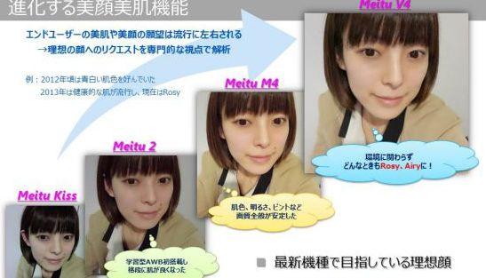 アプリいらずで自分じゃないほど盛れる 中国の自撮り専用スマホが進化中