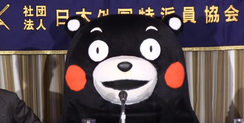 くまモン「ライバルは自分自身」 記者会見で語った熊本県営業部長としての心意気