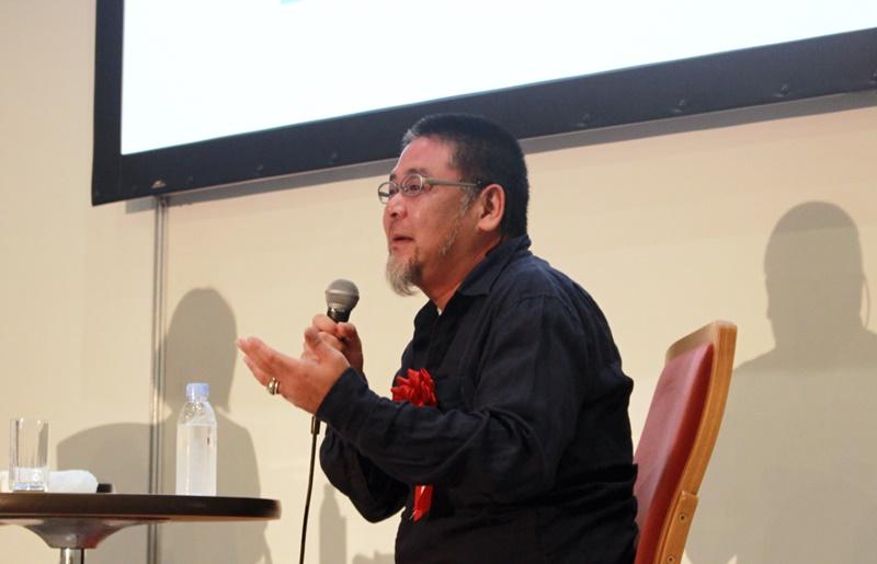 東京五輪エンブレム作者・野老氏が追求するシンプルさ「なにかを見ることは、なにかを見ないこと」