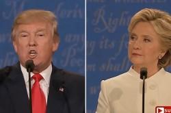 トランプ「彼女の話はすべて作り話だ」 大統領の適性について激しい口論が勃発