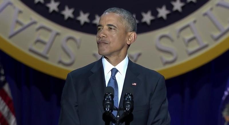 【全文】オバマ大統領、任期最後の演説「あなたたちが私をよい大統領にしてくれた」