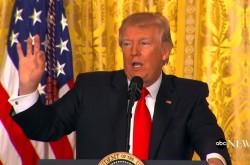 「アメリカの分裂を修正する」トランプ大統領、初の単独会見で自らの野望を語る