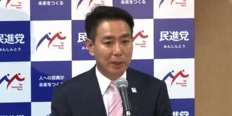 【全文】前原誠司氏「All for Allの社会を築きたい」民進党代表選に向けて政見を語る