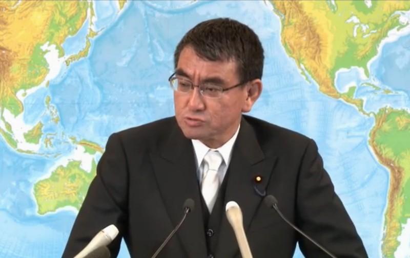 河野外務大臣、記者から父・洋平氏の質問に「私が付け加えることはない」