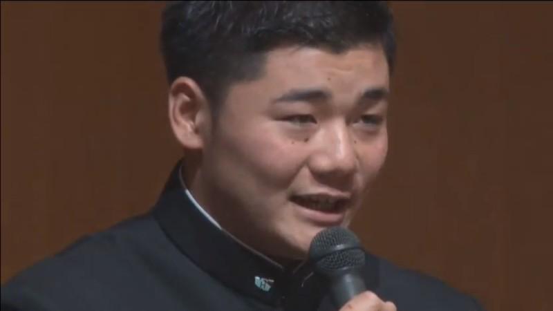 【全文2/2】日ハム決定の瞬間、「じっと受け止めていた」 早実・和泉監督が感じた、ドラフト会議中の清宮の心境