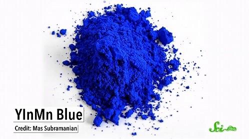 """今年新たにクレヨンに追加された色も 研究室で生み出された""""新しい青"""""""