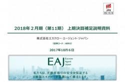 エスクローAJ、上期売上高・利益は大幅伸長 非対面決済サービス「H'OURS」の機能拡充に注力