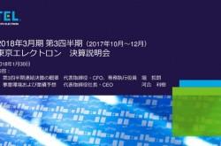東京エレクトロン、3Q売上高は2,577億円 2Q比8%低下も、下期計画に対して順調に進捗