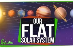 宇宙にまつわる謎 なぜ太陽系の惑星は平面の軌道を周回するのか?