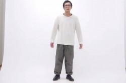 低身長がワイドパンツを履くとこうなる
