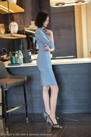 爱蜜社美女模特付艺轩Renee镂空内衣+丝袜美腿系列性感写真   Page 3/5