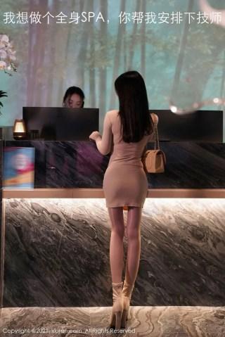 秀人网美女模特周于希Sandy修长美腿精致小蛮腰SPA系列写真 | Page 2/4