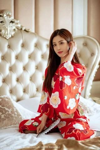 秀人网美女模特林文文yooki黑丝美腿和服主题极致性感写真 | Page 1/4