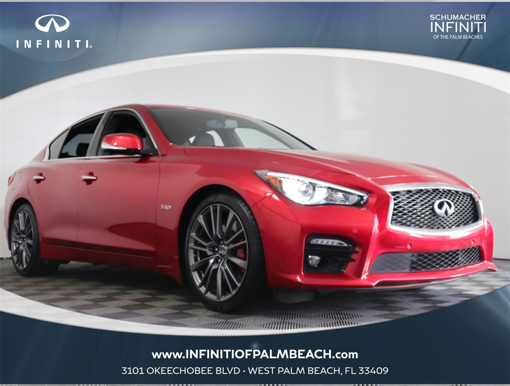 2017 INFINITI Q50 Red Sport 400 for sale