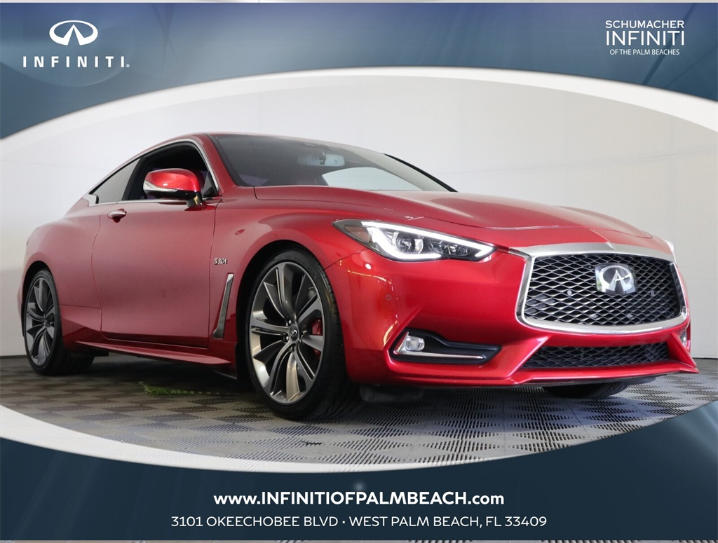 2018 INFINITI Q60 Red Sport 400 for sale
