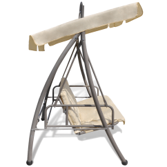 Swing Chair Local Hanging Bubble Beige Outdoor Bed Canopy Patterned Arch Sand