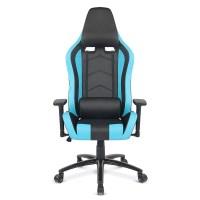 blue iKayaa Ergonomic Racing Gaming Office Computer Desk ...