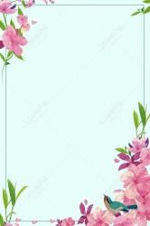 Elegant Pink Flowers Border Background Material images hd PSD poster backgrounds 605805531 Lovepik com