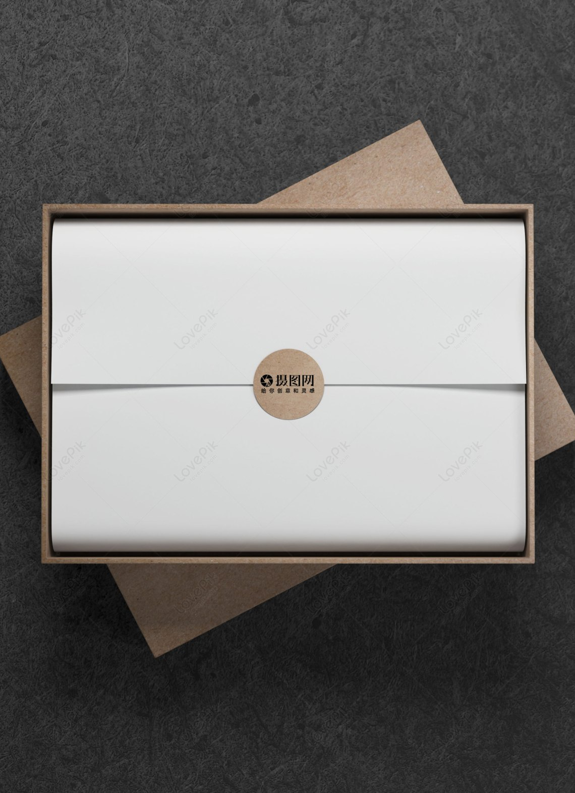 Download Wooden gift box mockup template image_picture free ...