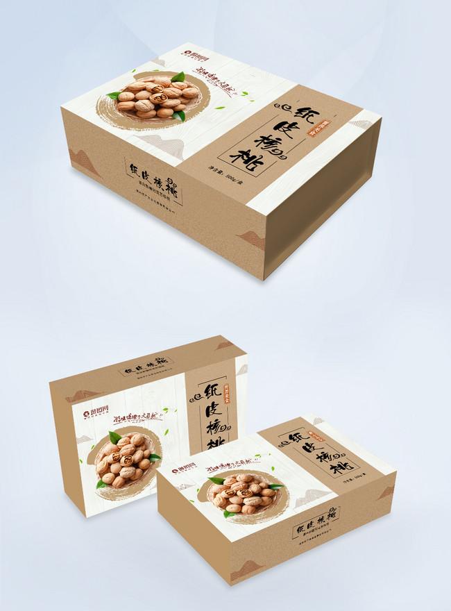 簡約紙皮核桃包裝盒圖片素材-PSD圖片尺寸1000 × 695px-高清圖片401578591-zh.lovepik.com