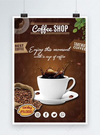 Contoh Banner Kedai Kopi : contoh, banner, kedai, Coffee, Promotion, Poster, Template, Image_picture, Download, 450002145_lovepik.com