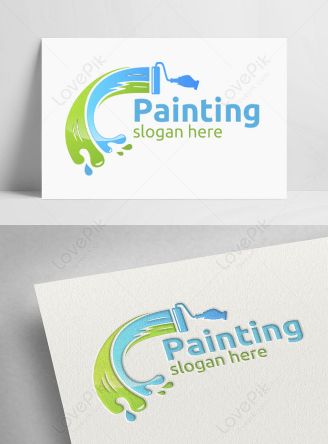 Free Painting Logos Download : painting, logos, download, Modern, House, Painting, Template, Image_picture, Download, 450040338_lovepik.com