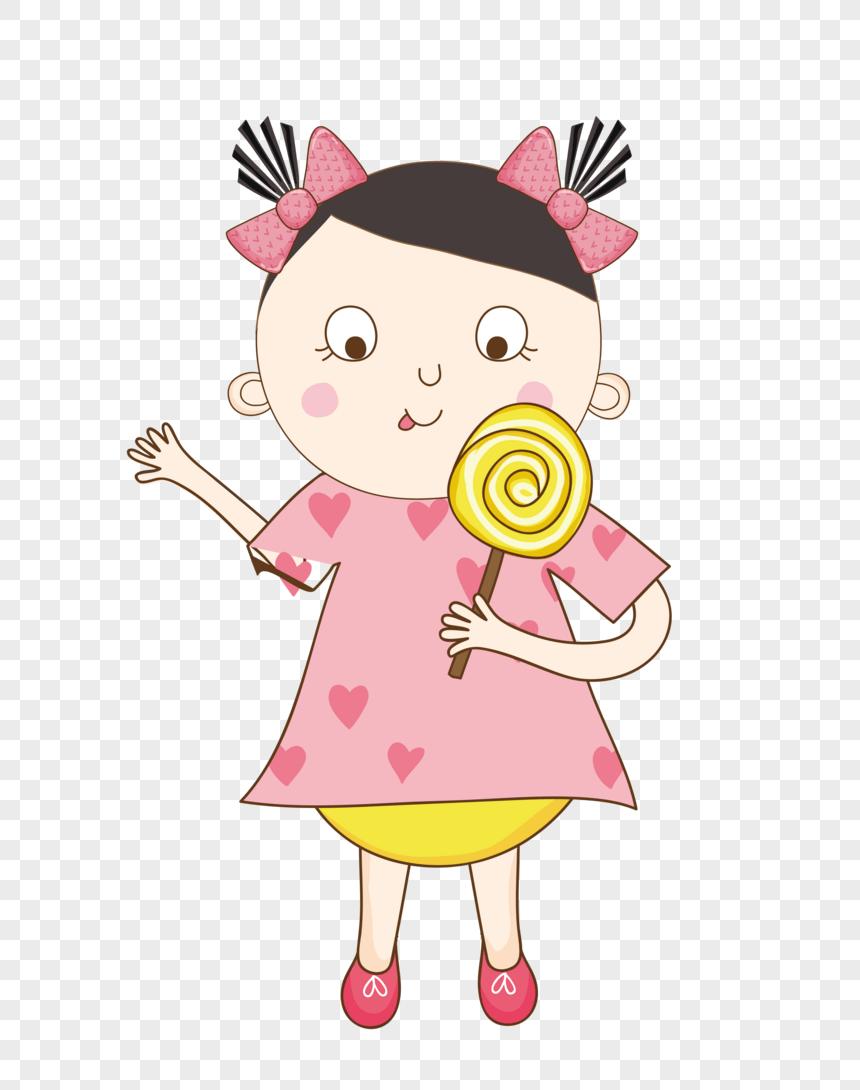 Gambar Kartun Sedang Makan : gambar, kartun, sedang, makan, Lollipops, Image_picture, Download, 400183540_lovepik.com