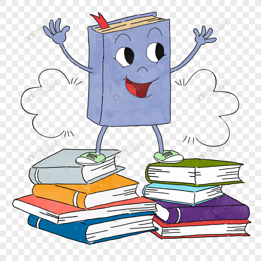 buku kartun yang digambar tangan gambar unduh gratis