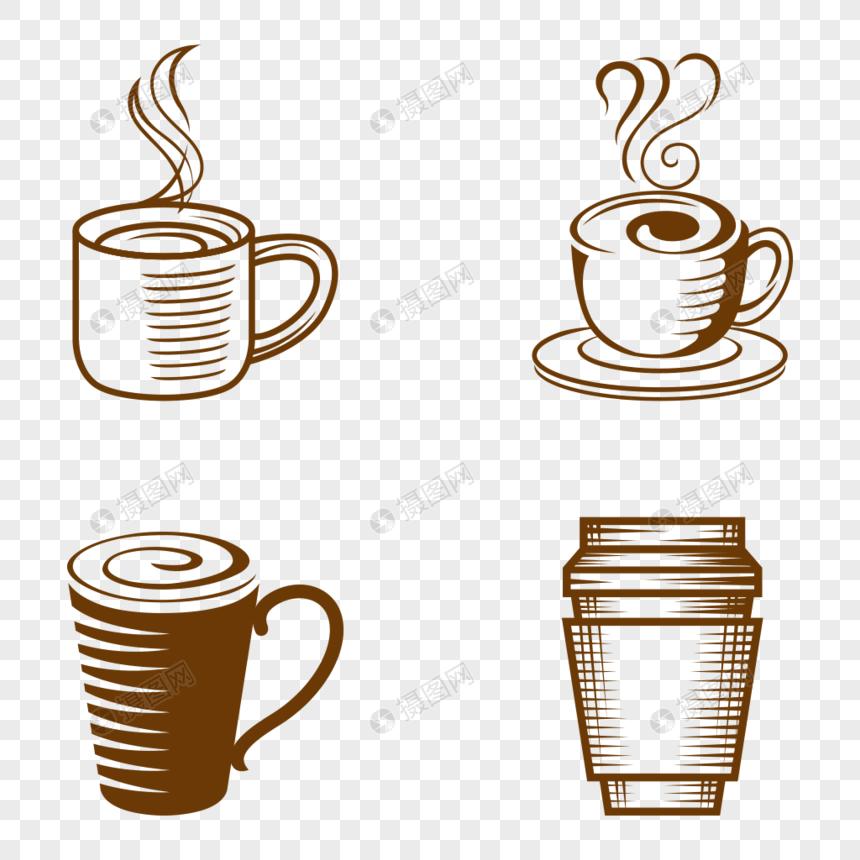 手繪咖啡杯png圖案素材免費下載-尺寸300 × 300px-圖形ID400428638-zh.lovepik.com