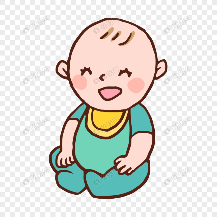 可愛卡通嬰兒寶寶矢量素材圖片素材-PNG圖片尺寸1000 × 1000px-高清圖片400503998-zh.lovepik.com
