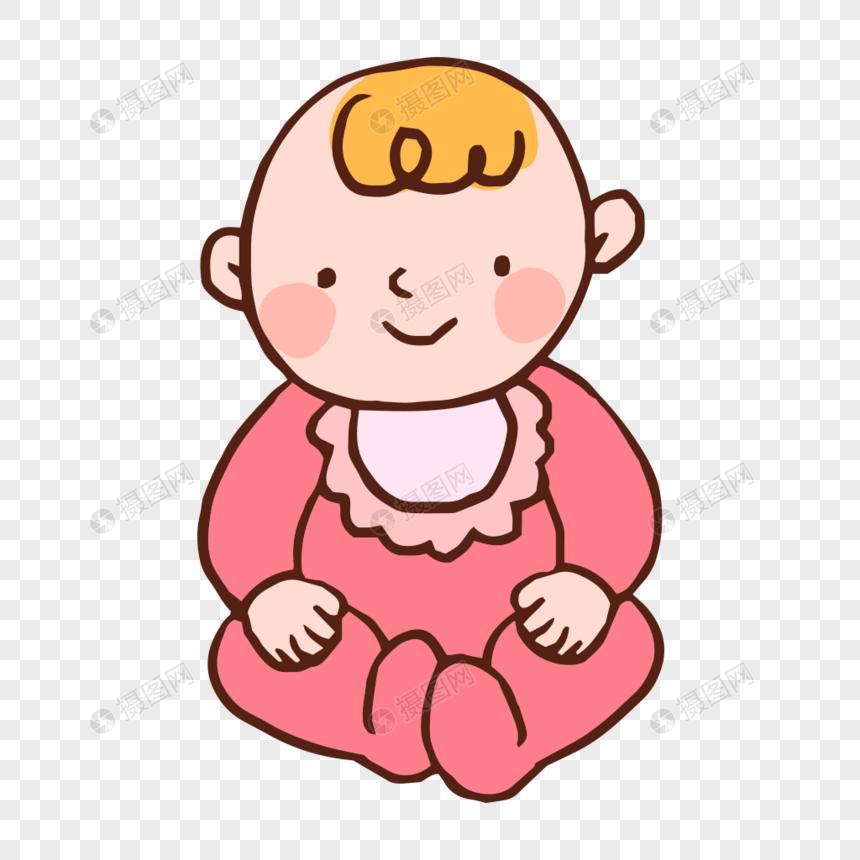 可愛卡通嬰兒寶寶矢量素材圖片素材-PNG圖片尺寸1000 × 1000px-高清圖片400504009-zh.lovepik.com